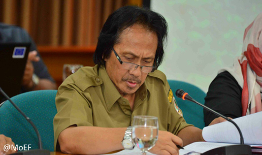 Review of existing palm oil permits in peat hydrological units to be prioritized according to DG
